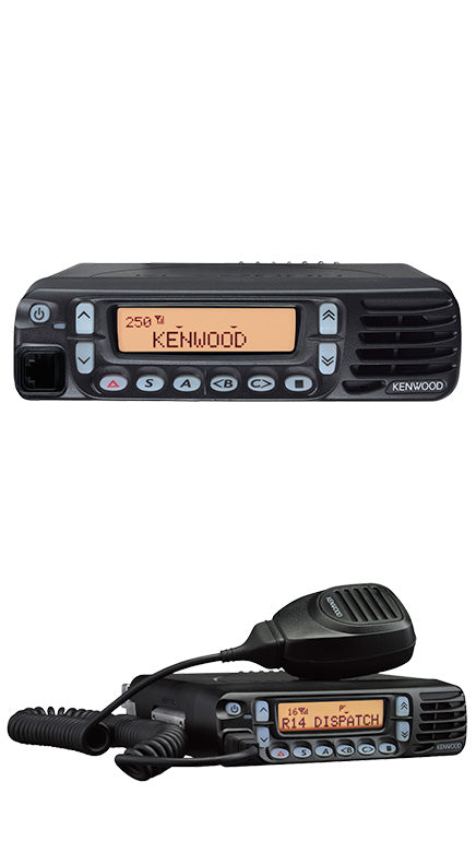 Used Kenwood 45w 2 way radio with front firing speaker NGP combo