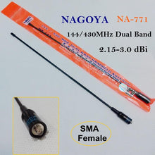 Upgraded high gain dual band hand held antenna