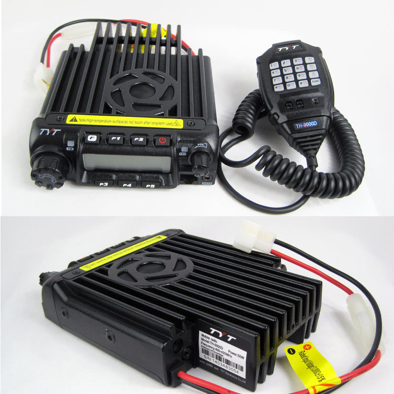 TYT TH9000D 50W UHF Upgraded NGP Combo