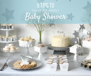 5Tips for Throwing the Perfect Baby Shower-Global Baby