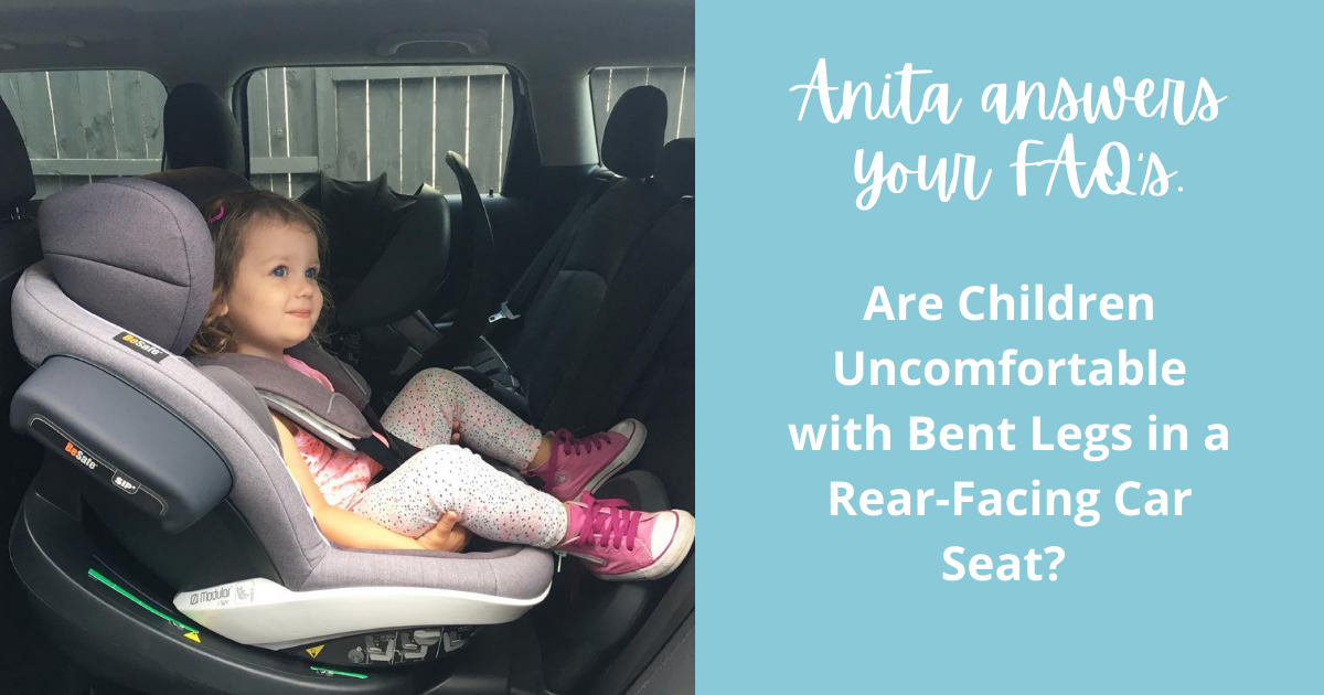 Are Children Uncomfortable with Bent Legs in a Rear-Facing Car Seat?