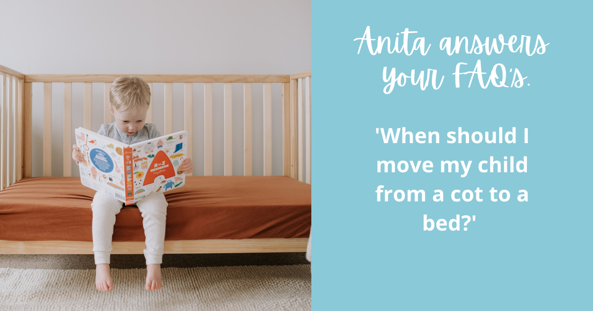 'When should I move my baby out of a cot?'