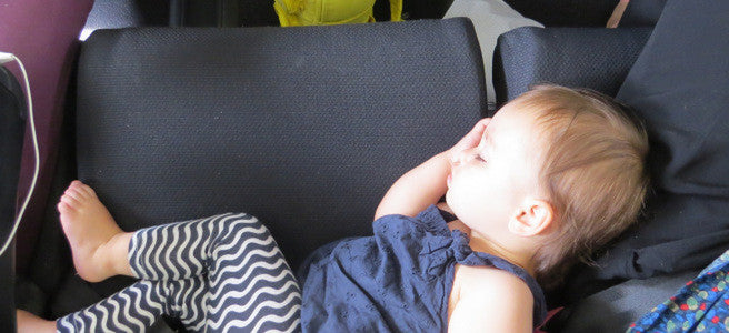 Tips for Travelling on a Plane with your Baby
