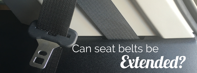 Can I get my seatbelt extended to fit a big car seat?