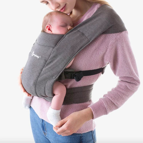 ERGOBABY EMBRACE CARRIER - HEATHER GREY Global Baby