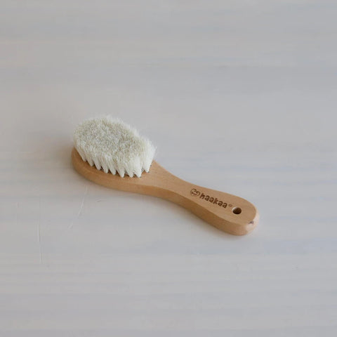 HAAKAA GOATS WOOL BABY HAIR BRUSH