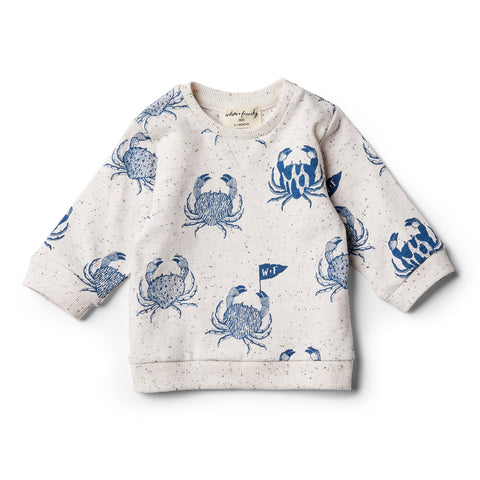 wilson + frenchy monsieur crab sweat