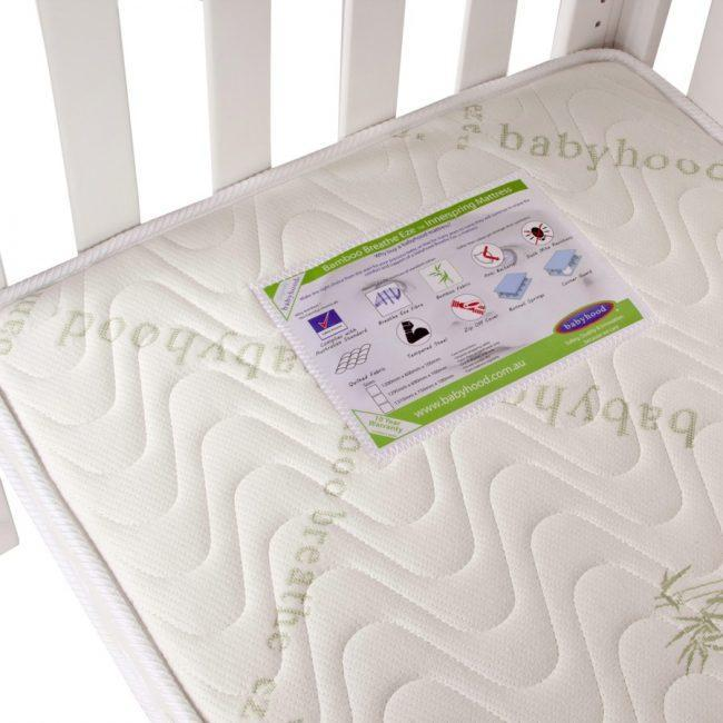 Babyhood Bamboo Breathe Eze Innerspring Mattress