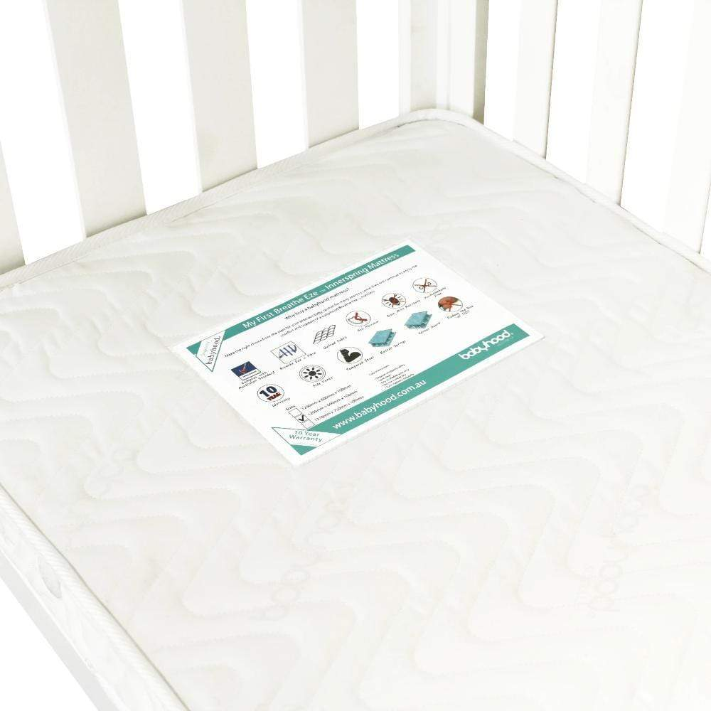 Babyhood My First Breathe Eze Innerspring Mattress