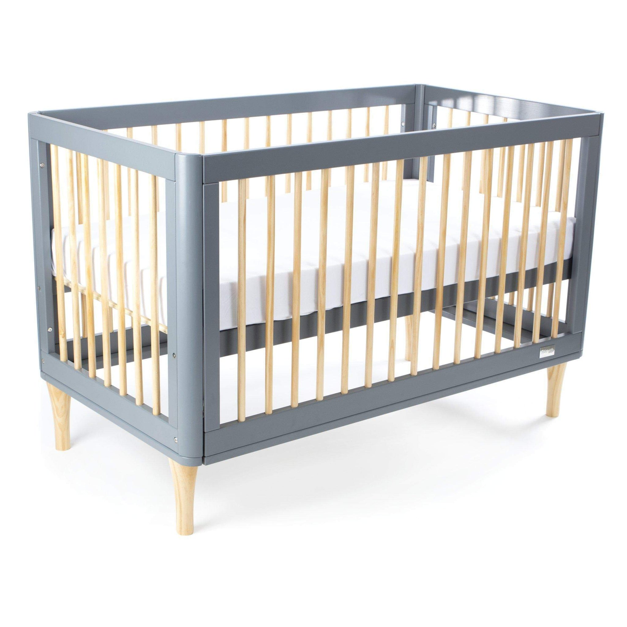 Babyhood Riya 5 in 1 Cot - Grey