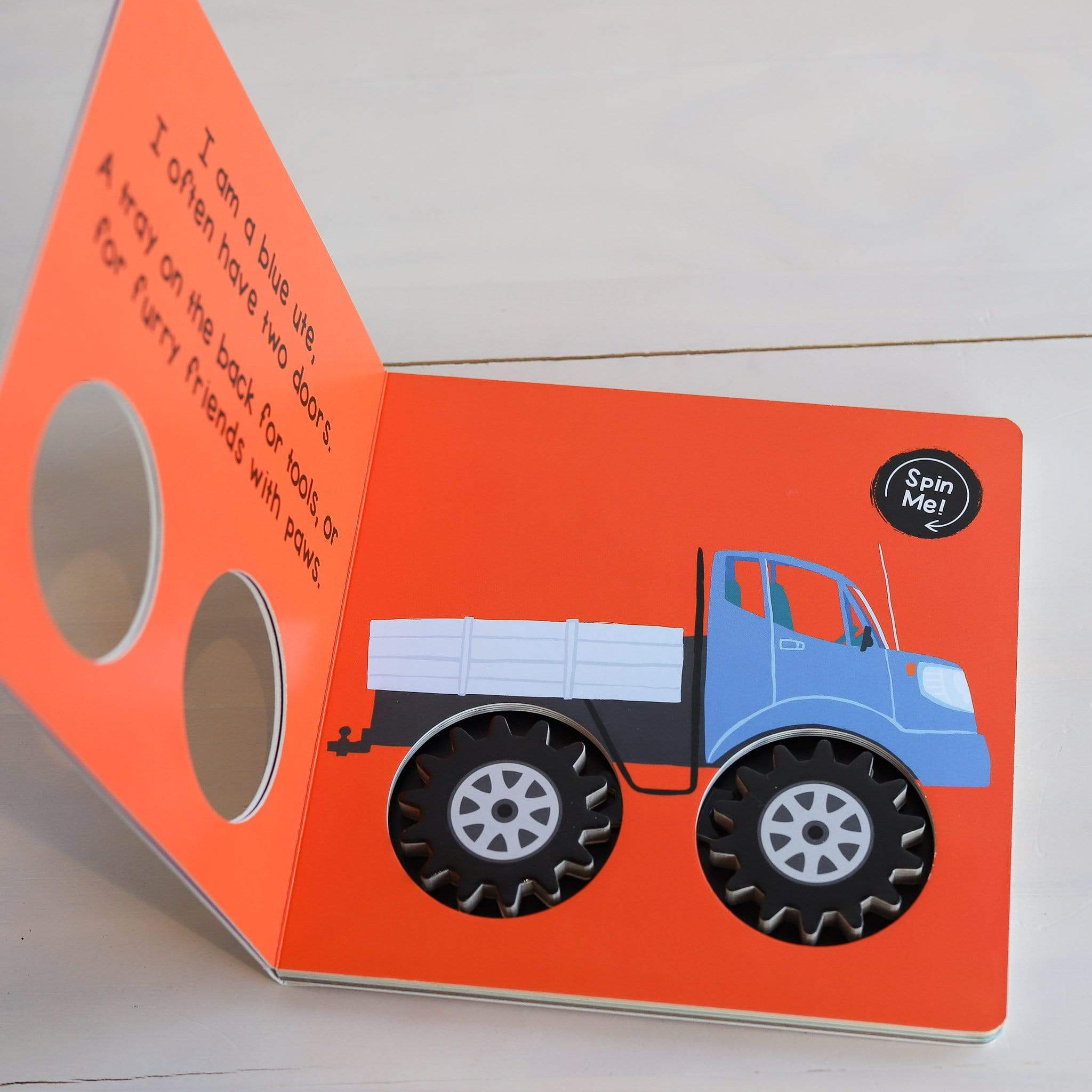 Lets Spin Cars Board Book