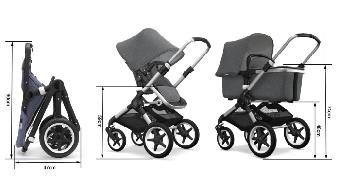 Bugaboo Fox2 Complete Stroller - Various Styles Available
