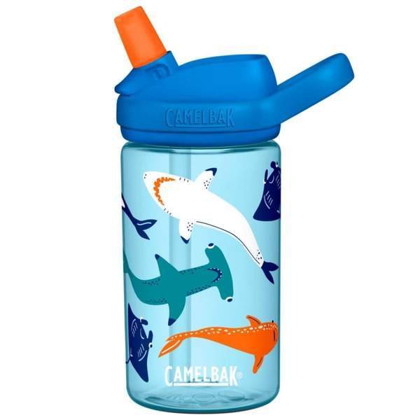 CamelBak Eddy+ Kids Bottle - 0.4L- Shark Squad