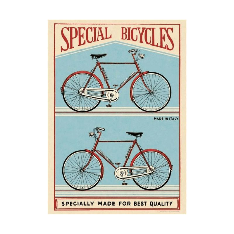 Cavallini & Co Special Bicycles Poster