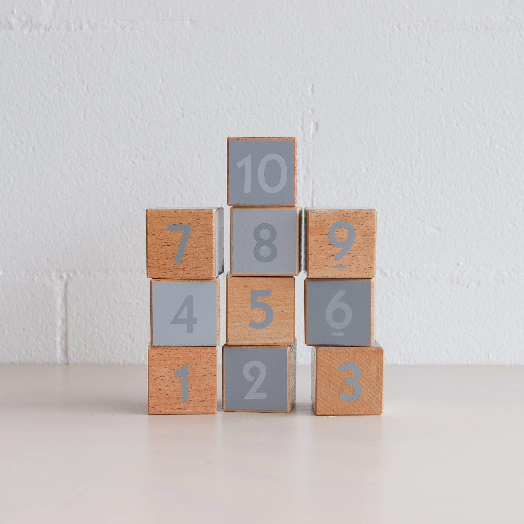 Discoveroo Wooden Milestone Blocks