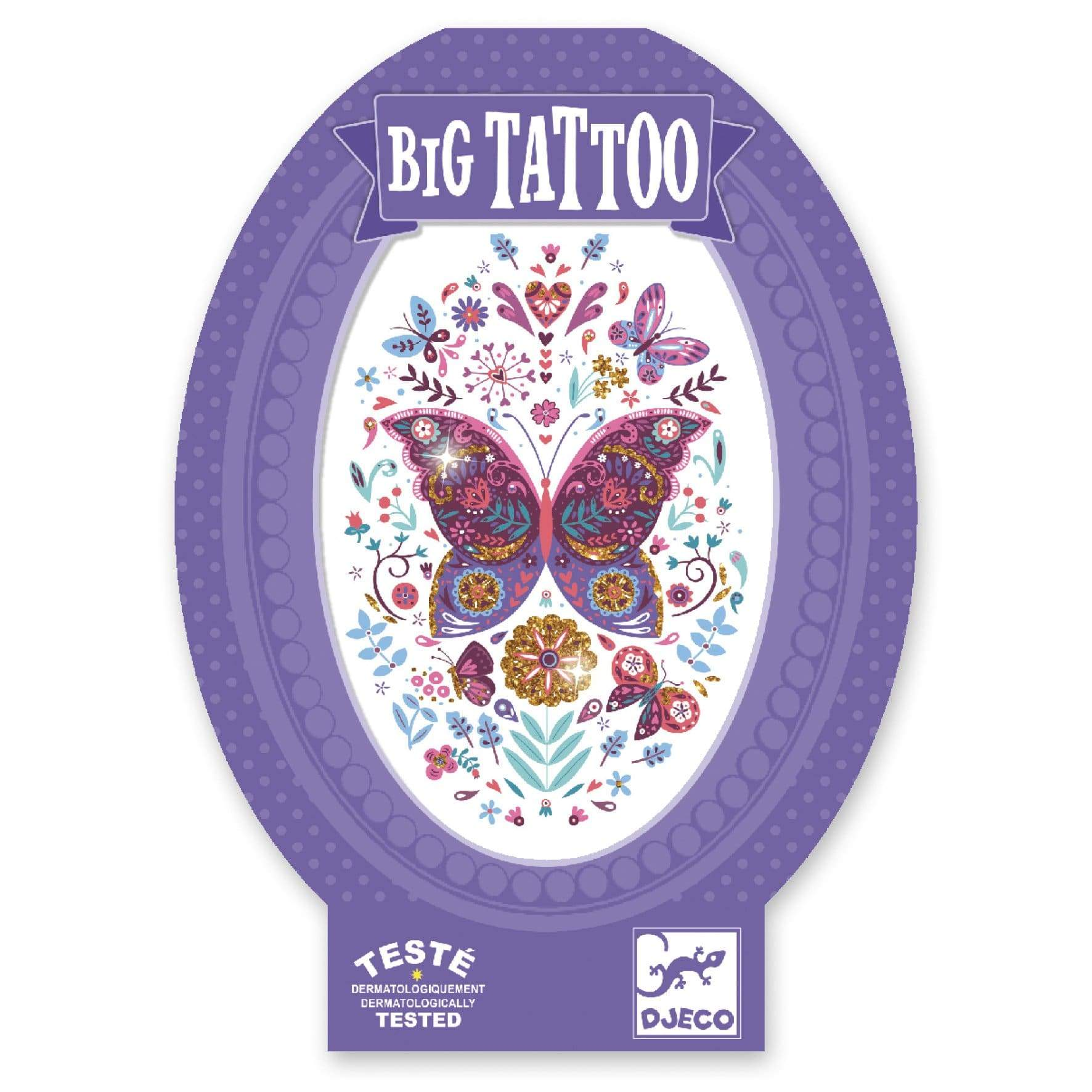 Djeco Big Tattoo - Butterfly