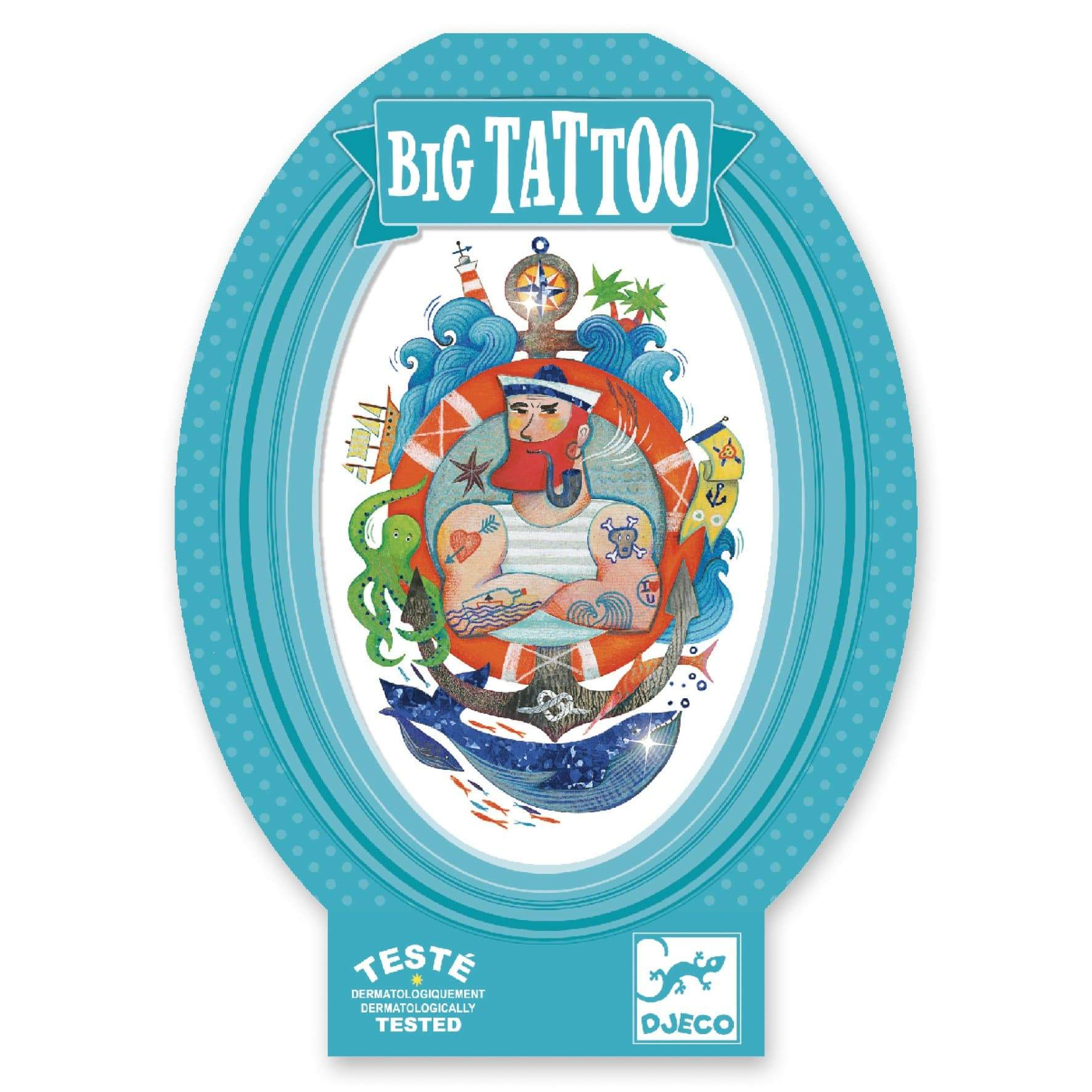 Djeco Big Tattoo - Sailor