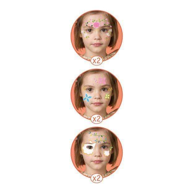 Djeco Face Paint Set Flower Fairy