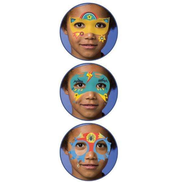 Djeco Face Paint Set Super Heroes