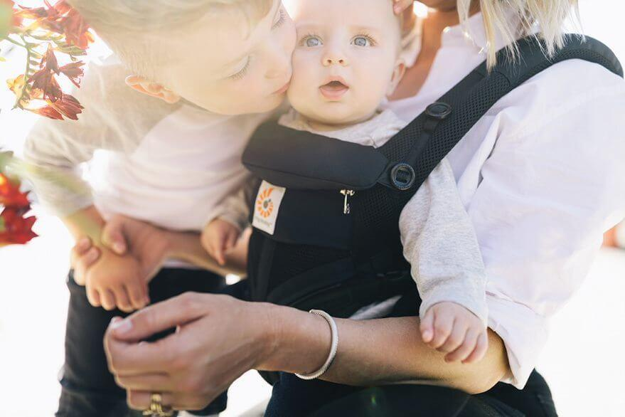 Ergobaby Omni 360 Carrier  Cool Air Mesh  - Onyx Black