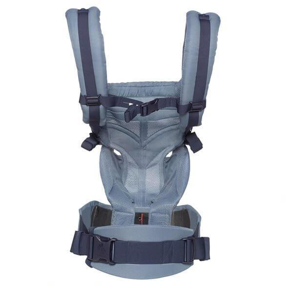 Ergobaby Omni 360 Cool Air Mesh - Oxford Blue-Baby Wearing-Global Baby