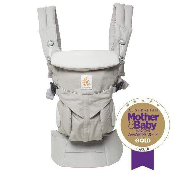 Ergobaby Omni 360 Carrier - Pearl Grey-Baby Wearing-Global Baby