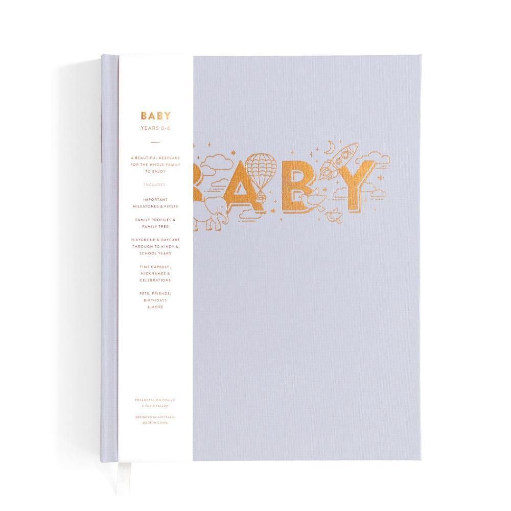 Fox & Fallow - Baby Journal Grey