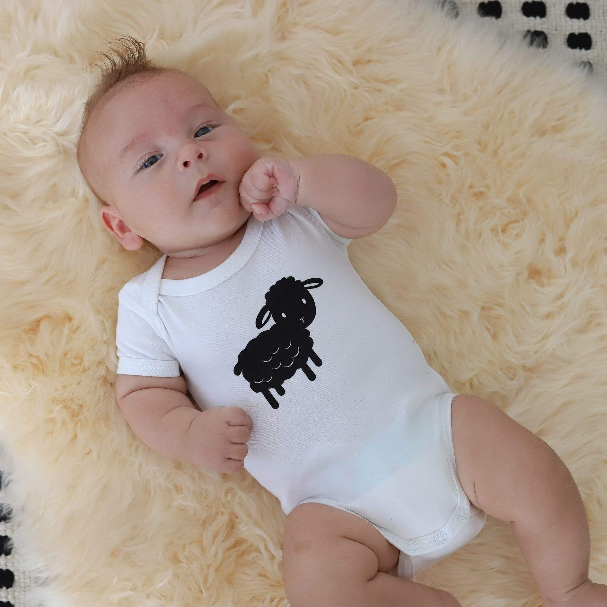 From NZ with Love Bodysuit & Pants Set - Sheep
