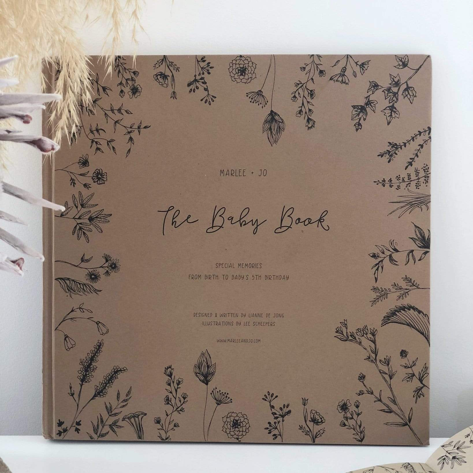 Marlee + Jo The Baby Book - Nature Collection