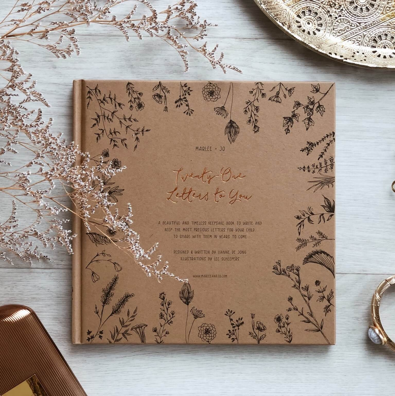 Marlee + Jo- Twenty-One Letters to You Nature Collection