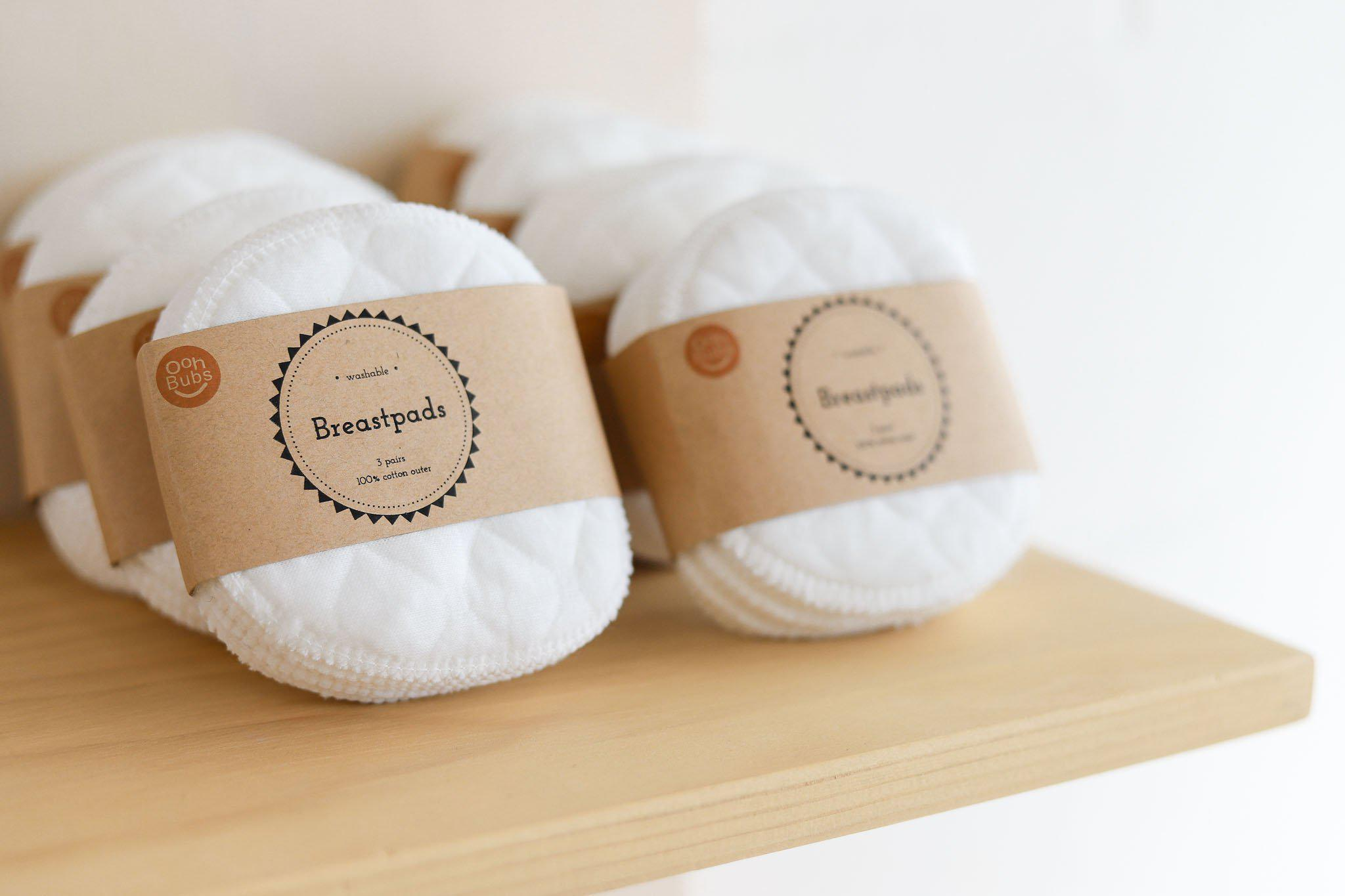 Oohbubs - Washable Breast Pads (3 Pairs)