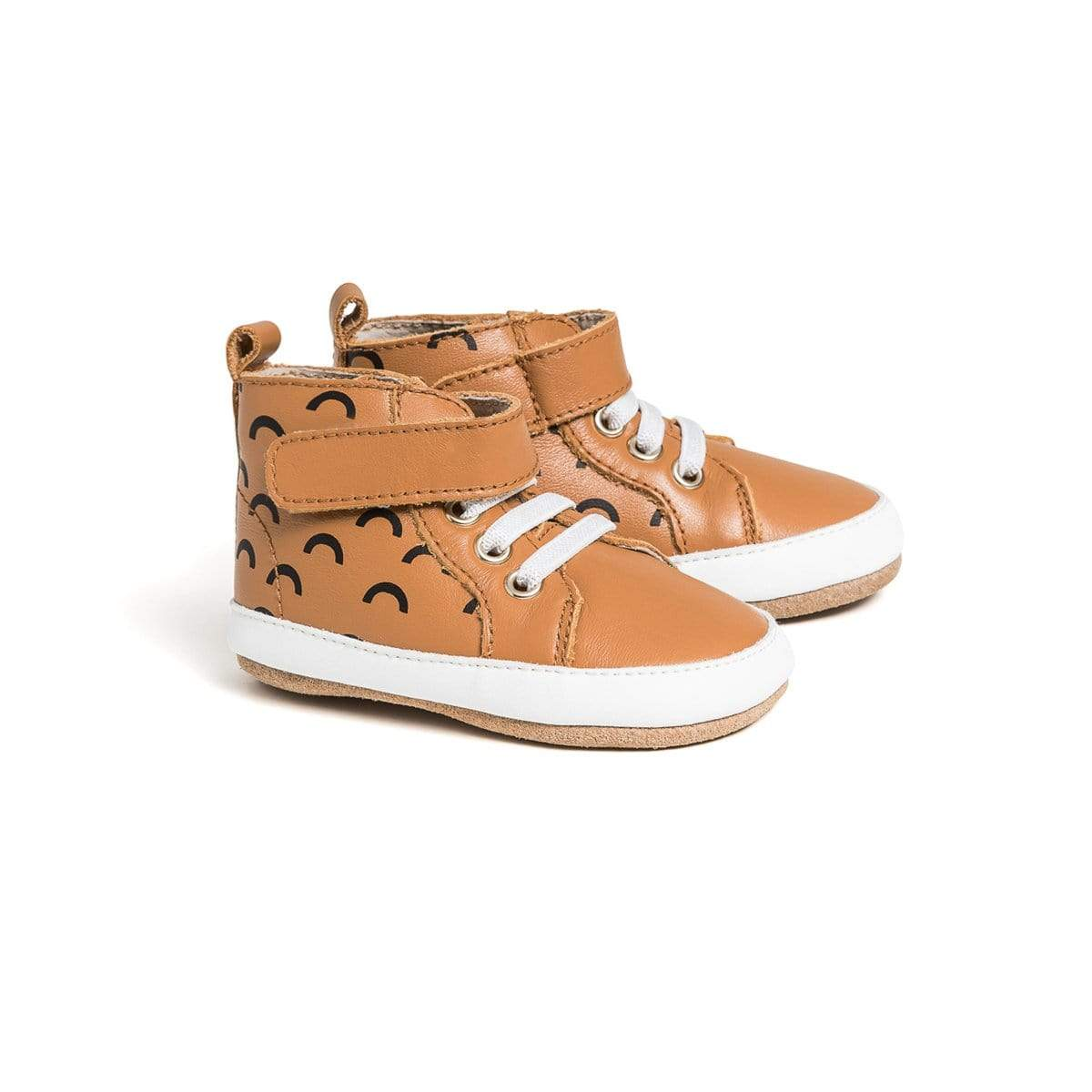 Pretty Brave Hi-Top Boots - Chestnut