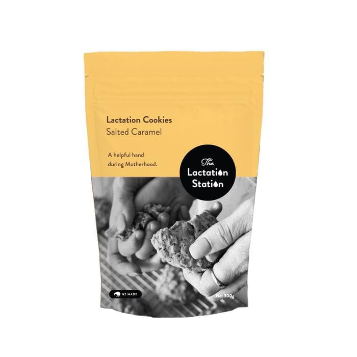 The Lactation Station Lactation Cookies - Salted Caramel