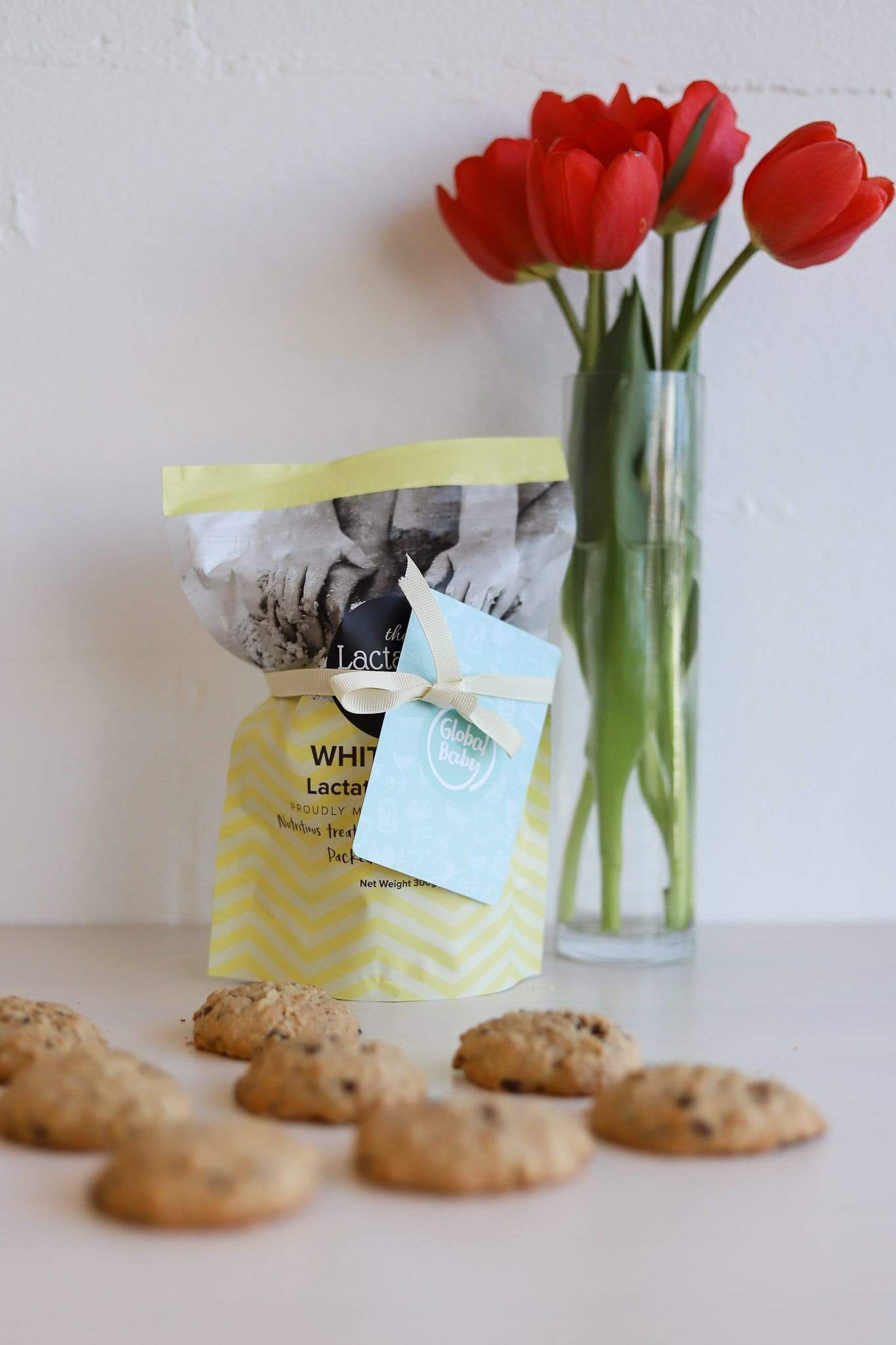 The Lactation Station Lactation Cookies - White Chocolate