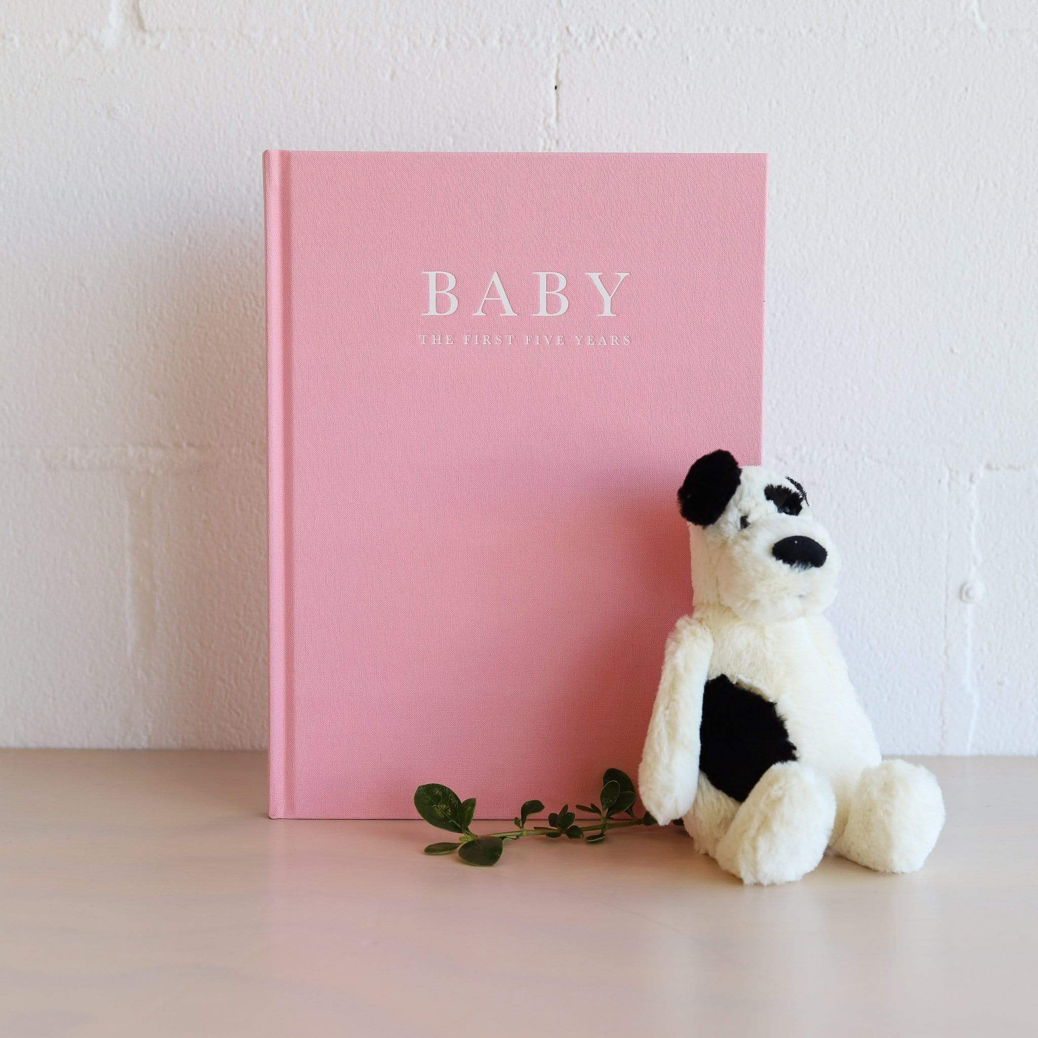 Write to Me Baby Journal - Pink