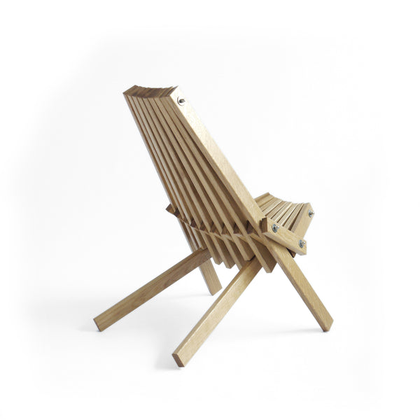 Camping Toby Chair in Oak