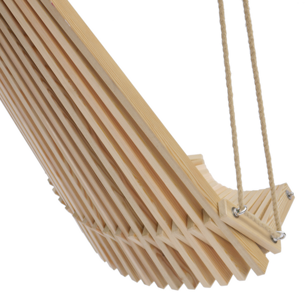 Toby Pendant Chair in Larch