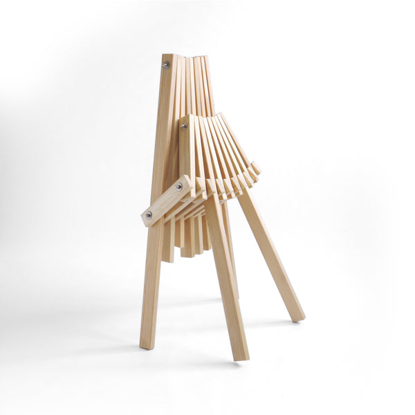 Larch camping chair folded - Toby hair