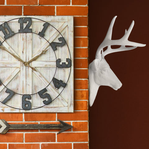 Faux Taxidermy Deer Head wall mount
