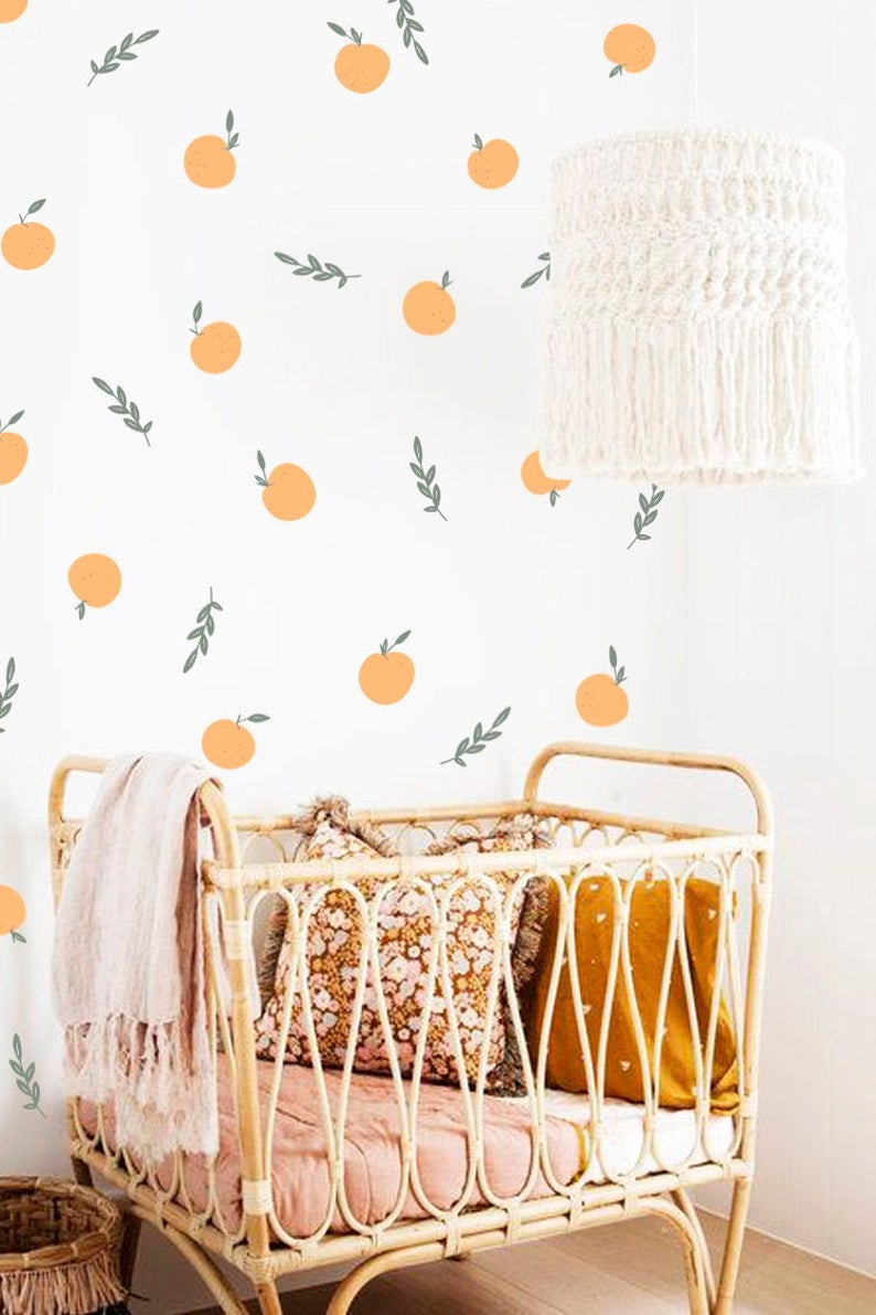 Peach Wall Stickers