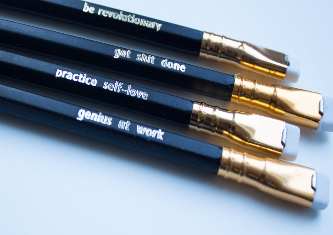Wholesale Be Revolutionary Pencil Set
