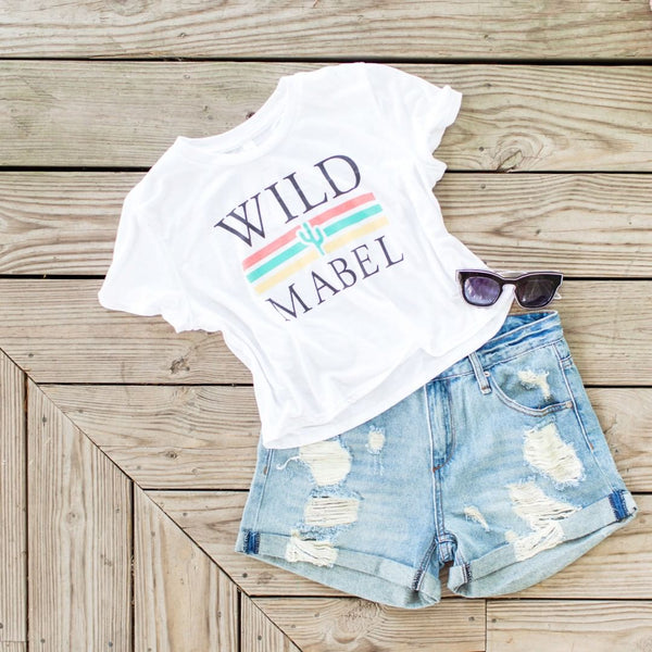 Wild Mabel custom T-shirt ensemble