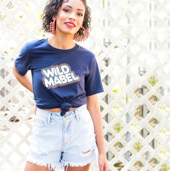 Wild Mabel custom T-shirt