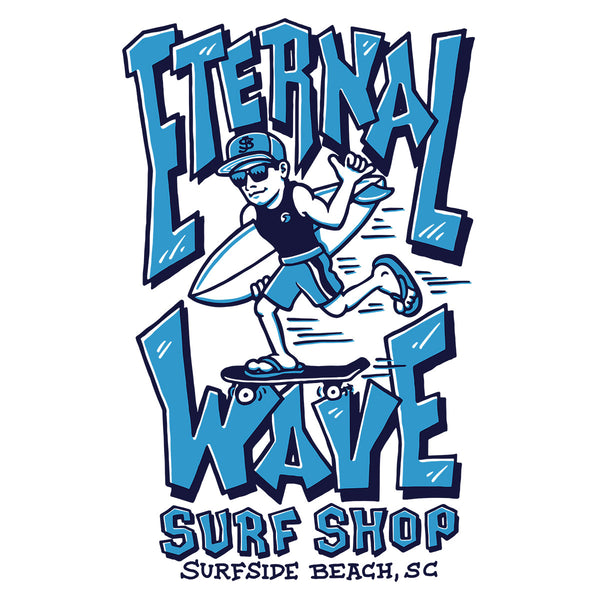 Eternal Wave Surf Shop T-shirt