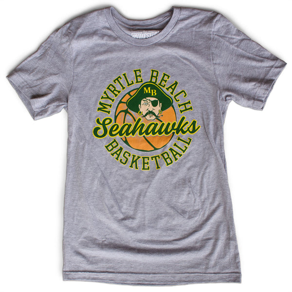 Myrtle Beach Seahawks Basketball Custom T-shirt