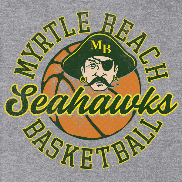 Myrtle Beach Seahawks Basketball Custom T-shirt Design