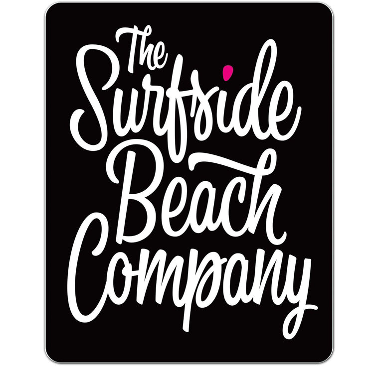 The Surfside Beach Company (Bewitched) Glossy Vinyl Sticker
