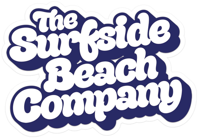 The Surfside Beach Company (Yummy Bubble) Glossy Vinyl Sticker