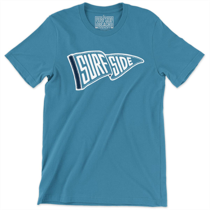 SURFSIDE (Waving Pennant) Unisex T-Shirt