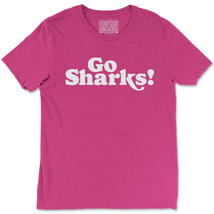 Go Sharks! (St. James): Unisex T-Shirt
